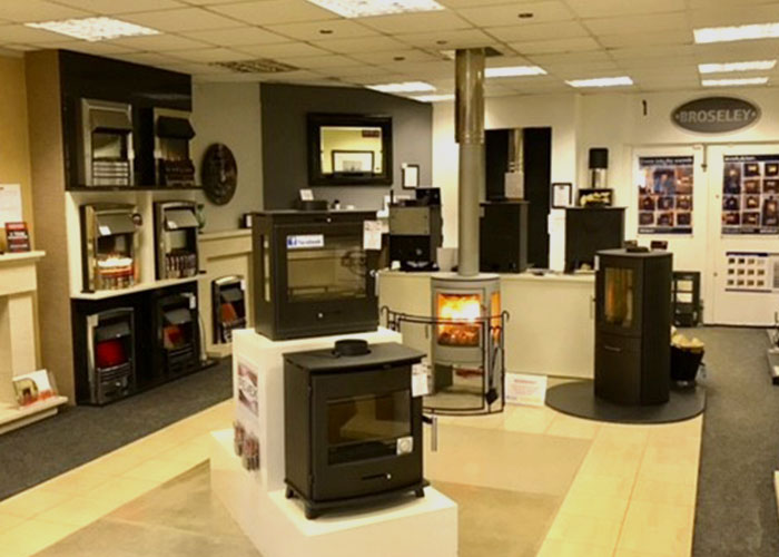 The Stove Centre Showroom